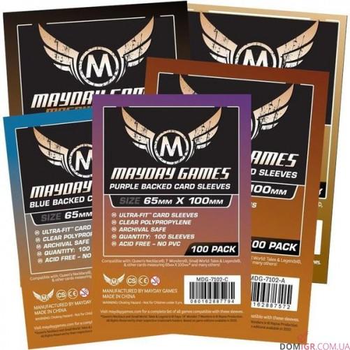 Протекторы Mayday Games - 65х100 мм - 7 Wonders, Premium