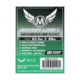 Протекторы Mayday Games - 66x91мм - 80 Зеленый - CCG/MTG Card
