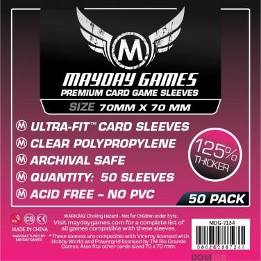 Протекторы Mayday Games - 70х70 мм, Premium
