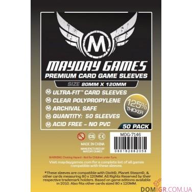 Протекторы Mayday Games - 80х120 мм - Dixit, Premium