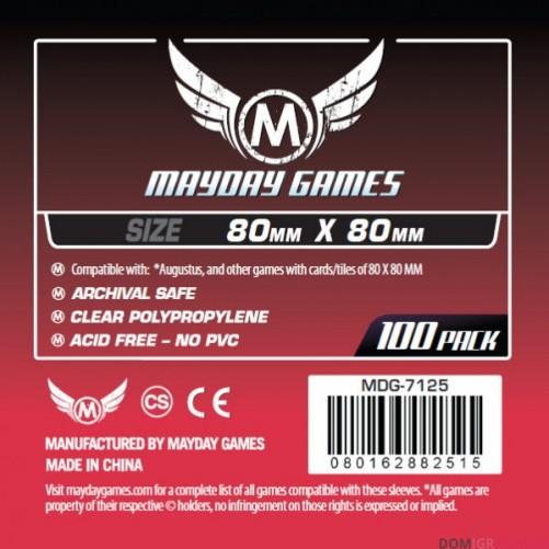 Протекторы Mayday Games - 80х80 мм