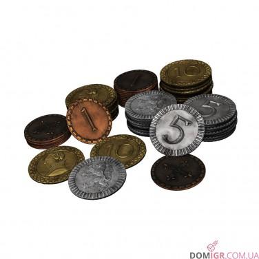 Clans of Caledonia - Набор монет