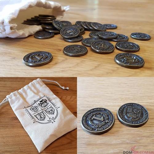 Glen More II: Chronicles - Metal Coins