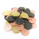 Metal Industrial Coins - Boardgame Upgrade Set