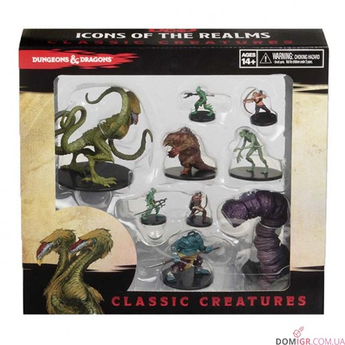 D&D Icons of the Realms: Classic Creatures Set Box