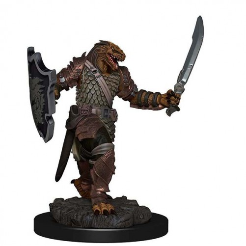 Female Dragonborn Paladin - D&D Icons of the Realms Premium Figures