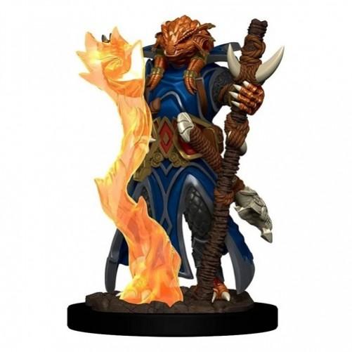 Female Dragonborn Sorcerer - D&D Icons of the Realms Premium Figures