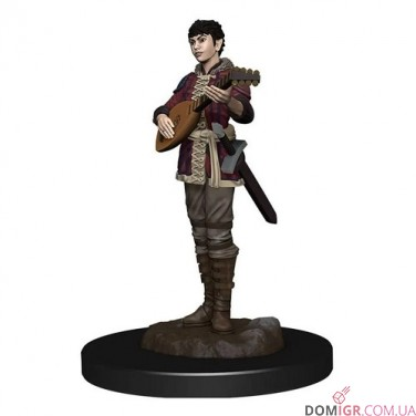 Female Half-Elf Bard - D&D Icons of the Realms Premium Figures