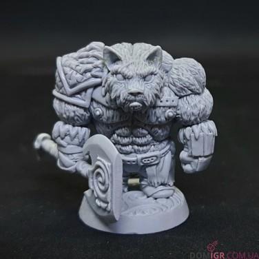 Cat Barbarian - Yggdrasil Miniatures