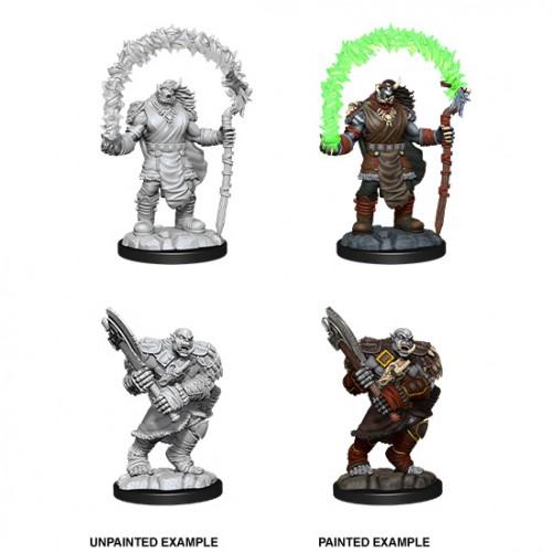Orc Adventurers - D&D Nolzur's Marvelous Miniatures - W12