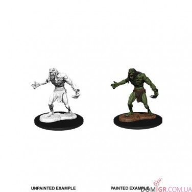 Raging Troll - D&D Nolzur's Marvelous Miniatures - W12