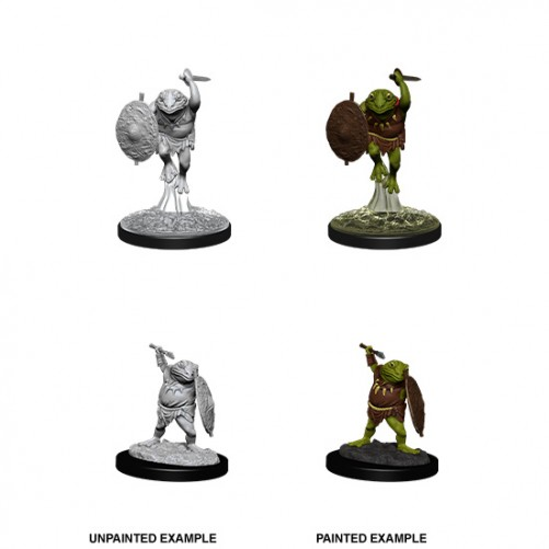 Bullywug - D&D Nolzur's Marvelous Miniatures - W12