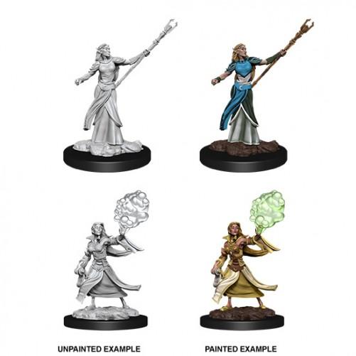 Female Elf Sorcerer - D&D Nolzur's Marvelous Miniatures - W12