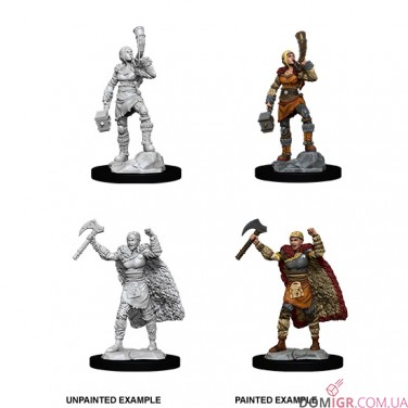 Female Human Barbarian - D&D Nolzur's Marvelous Miniatures - W12