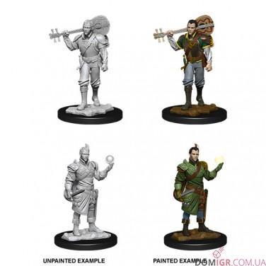 Male Half-Elf Bard - D&D Nolzur's Marvelous Miniatures - W12