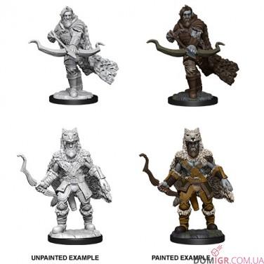 Male Firbolg Ranger - D&D Nolzur's Marvelous Miniatures - W14