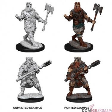 Male Human Barbarian - D&D Nolzur's Marvelous Miniatures - W14