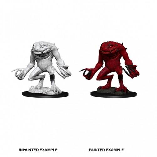 Red Slaad - D&D Nolzur's Marvelous Miniatures - W14