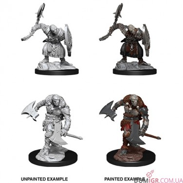 Warforged Barbarian - D&D Nolzur's Marvelous Miniatures - W14