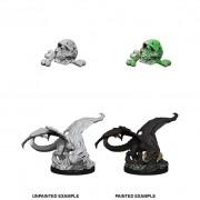 Black Dragon Wyrmling - D&D Nolzur's Marvelous Miniatures - W10