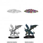 Blue Dragon Wyrmling - D&D Nolzur's Marvelous Miniatures - W10