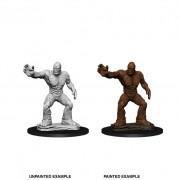 Clay Golem - D&D Nolzur's Marvelous Miniatures - W10