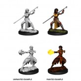 Female Half-Elf Monk - D&D Nolzur's Marvelous Miniatures - W10