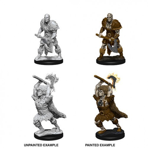 Male Goliath Barbarian - D&D Nolzur's Marvelous Miniatures - W10