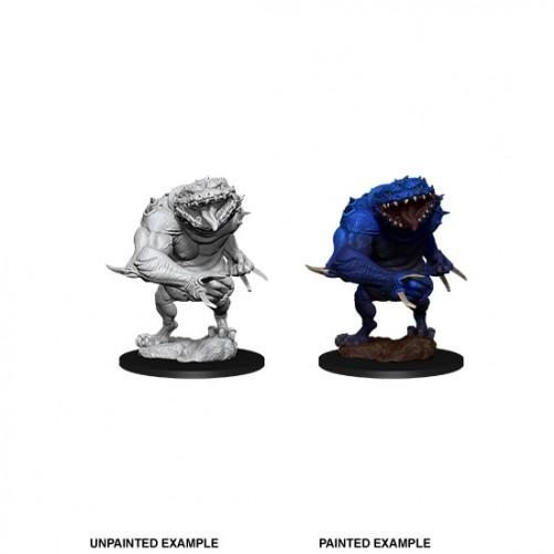 Blue Slaad - D&D Nolzur's Marvelous Miniatures - W11
