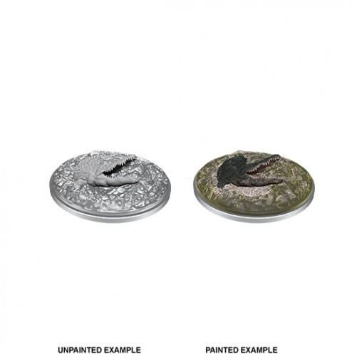 Crocodile - D&D Nolzur's Marvelous Miniatures - W11