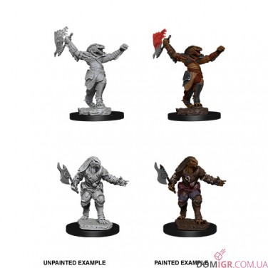 Female Dragonborn Fighter - D&D Nolzur's Marvelous Miniatures - W11