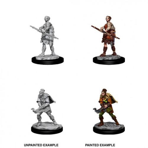 Female Human Ranger - D&D Nolzur's Marvelous Miniatures - W11