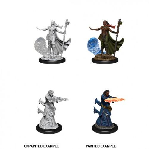 Female Human Wizard - D&D Nolzur's Marvelous Miniatures - W11