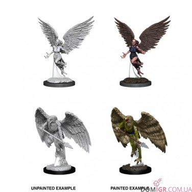 Harpy & Arakocra - D&D Nolzur's Marvelous Miniatures - W11