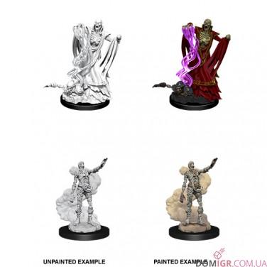 Lich & Mummy Lord - D&D Nolzur's Marvelous Miniatures - W11