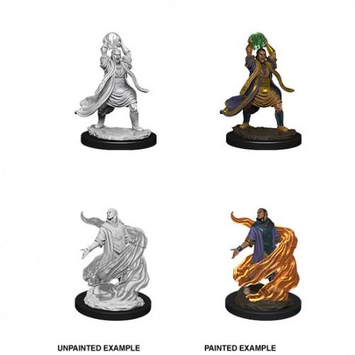Male Elf Sorcerer - D&D Nolzur's Marvelous Miniatures - W11