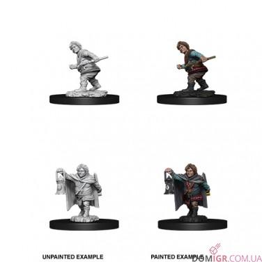 Male Halfling Rogue - D&D Nolzur's Marvelous Miniatures - W11
