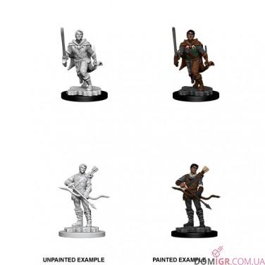 Male Human Ranger - D&D Nolzur's Marvelous Miniatures - W11