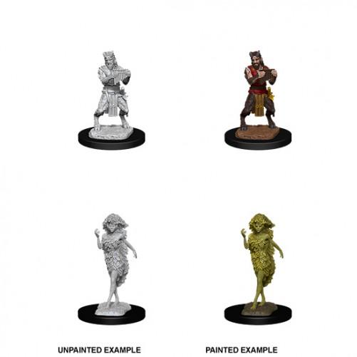 Satyr & Dryad - D&D Nolzur's Marvelous Miniatures - W11