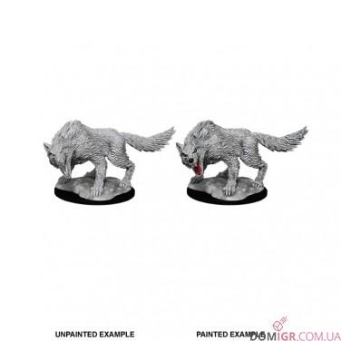 Winter Wolf - D&D Nolzur's Marvelous Miniatures - W11