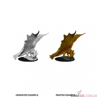 Young Gold Dragon - D&D Nolzur's Marvelous Miniatures - W11