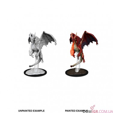 Young Red Dragon - D&D Nolzur's Marvelous Miniatures - W11