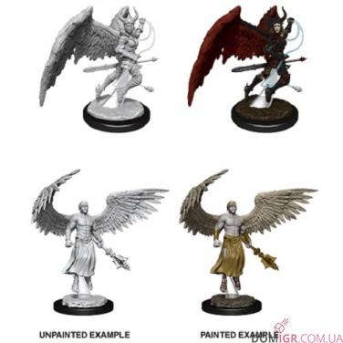 Deva & Erinyes - D&D Nolzur's Marvelous Miniatures - W13