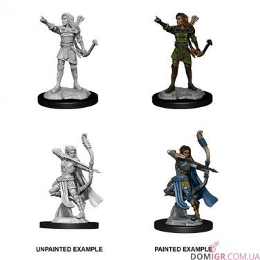 Female Elf Ranger - D&D Nolzur's Marvelous Miniatures - W13