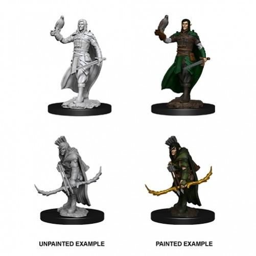 Male Elf Ranger - D&D Nolzur's Marvelous Miniatures - W13