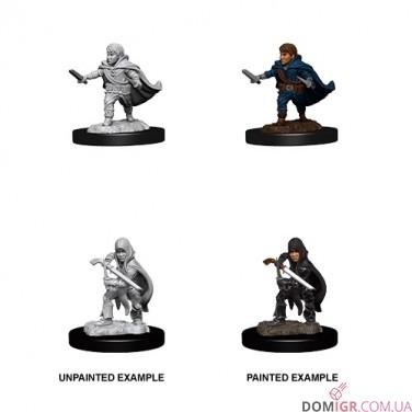 Male Halfling Rogue - D&D Nolzur's Marvelous Miniatures - W13
