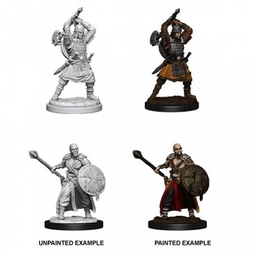 Male Human Barbarian - D&D Nolzur's Marvelous Miniatures - W13
