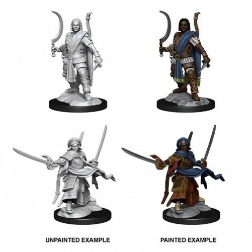 Male Human Ranger - D&D Nolzur's Marvelous Miniatures - W13