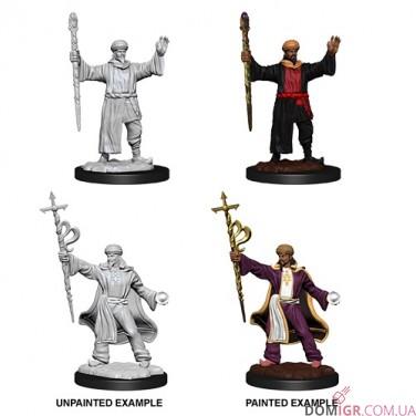 Male Human Wizard - D&D Nolzur's Marvelous Miniatures - W13