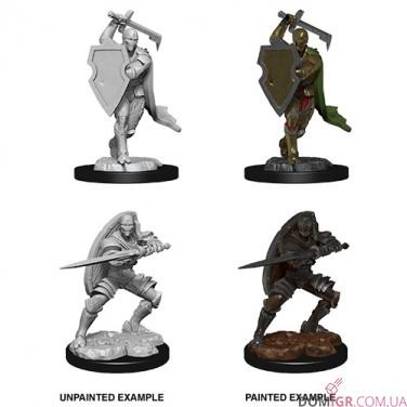 Male Warforged Fighter - D&D Nolzur's Marvelous Miniatures - W13